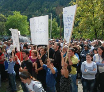 Georgian government and investors reject Ombudsman's offer to mediate in controversy over Khudoni mega dam