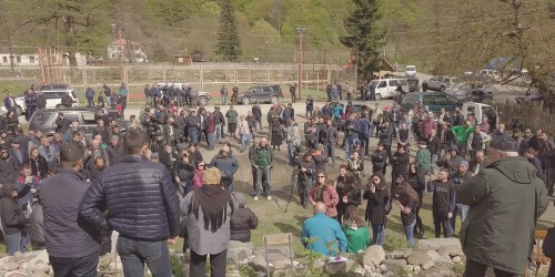 New wave of protests against the Nenskra dam
