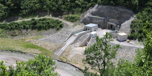 Fears revive in the villages of Shuakhevi as one of Georgia's biggest hydropower plants starts operation